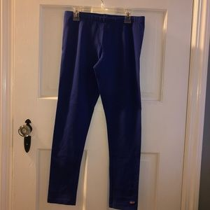 Vineyard vines royal blue leggings